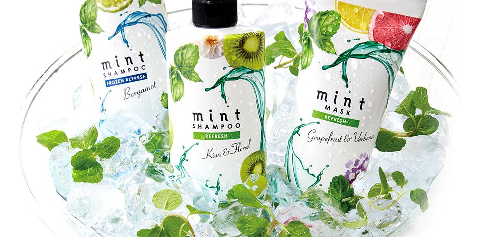 「mint」で爽快、夏の快適ケア
