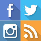 LINE、facebook、twitterなど美容室・美容院グランディールのソーシャルメディアをご紹介!